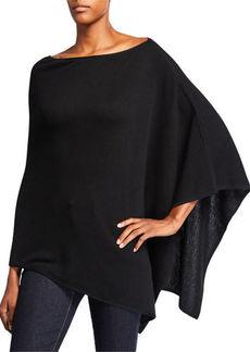 Eileen Fisher Fine Merino Wool Link Poncho