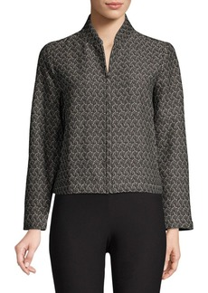 Eileen Fisher Flight Jacquard Jacket