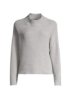 Eileen Fisher Funnel-Neck Boxy Sweater