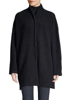 Eileen Fisher Funnel Neck Jacket