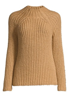 Eileen Fisher Funnel-Neck Knit Sweater