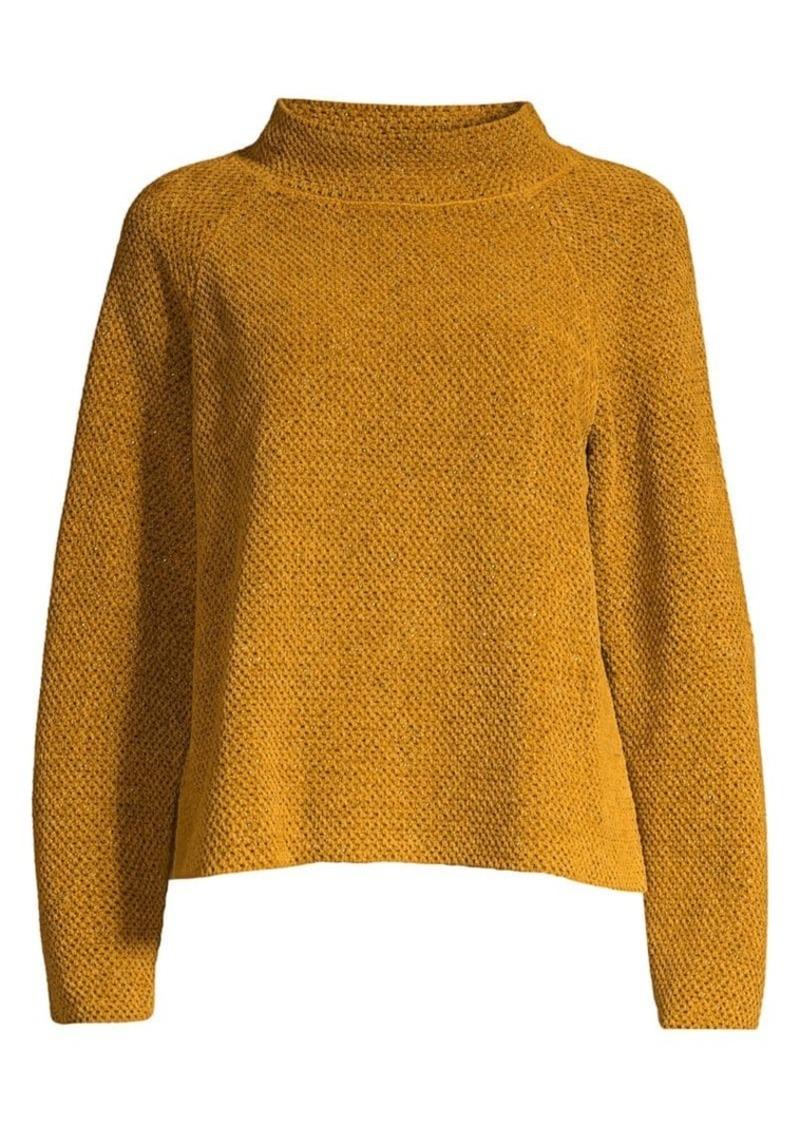 Eileen Fisher Funnel-Neck Sweater