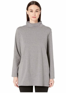 Eileen Fisher Funnel Neck Tunic