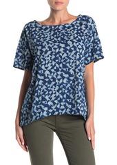 Eileen Fisher Geometric Short Sleeve T-Shirt