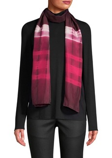 Eileen Fisher Graphic Silk Scarf