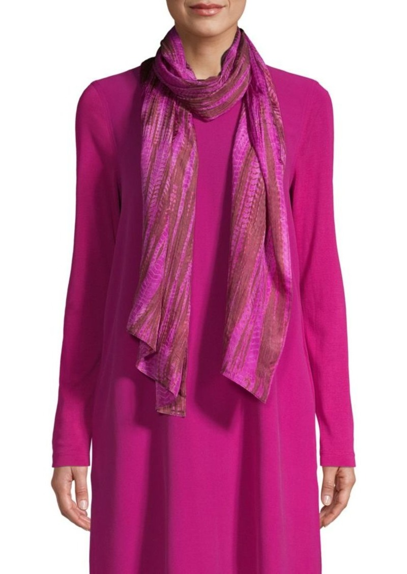 Eileen Fisher Hand Dyed Scarf