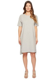 Eileen Fisher Heathered Organic Cotton Jersey A-line Dress