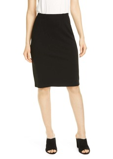 Eileen Fisher High Waist Pencil Skirt