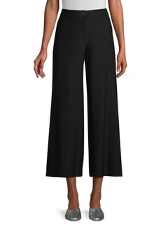 Eileen Fisher High Waisted Ankle Pant