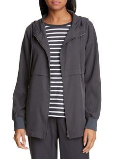 Eileen Fisher Hooded Jacket (Petite)