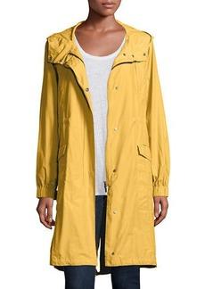 Eileen Fisher Plus Size Hooded Long Anorak Jacket