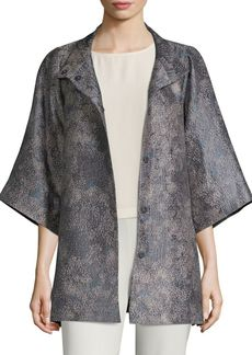 Eileen Fisher Jacquard Jacket