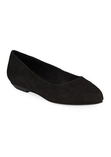 Eileen Fisher Jil Easy Nubuck Ballet Flats
