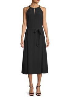 Eileen Fisher Keyhole Halter Dress