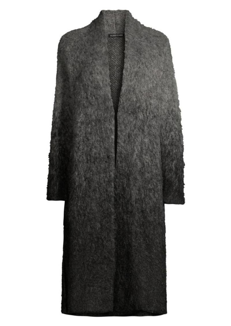 Eileen Fisher Kimono Mohair & Alpaca Blend Cardigan