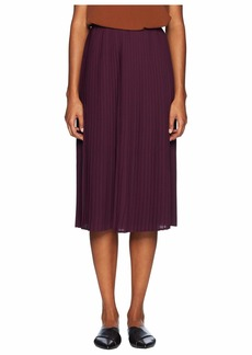 Eileen Fisher Knife Pleated Recycled Polyester Pleated Skirt