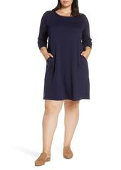 Eileen Fisher Knit Dress (Plus Size)