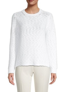Eileen Fisher Knitted Cotton Top