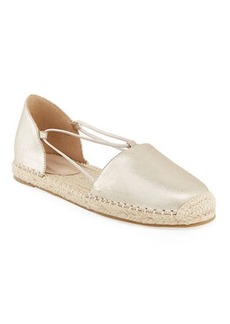 Eileen Fisher Lee Leather d'Orsay Espadrilles