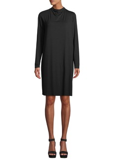 Eileen Fisher Lightweight Viscose Jersey Dress