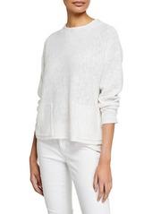 Eileen Fisher Linen-Cotton Sweater