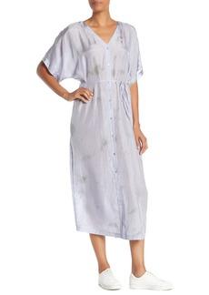 Eileen Fisher Long Silk Shirt Dress