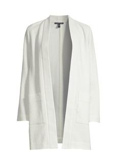 Eileen Fisher Long Textured Kimono