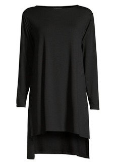 Eileen Fisher Longline High-Low Tunic Top