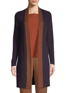 Eileen Fisher Longline Open Front Cardigan