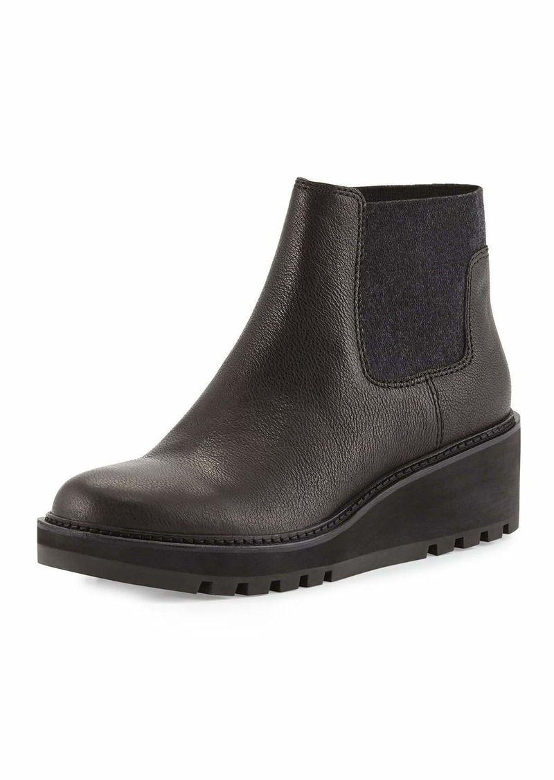c913b3bc573 Eileen Fisher Low-Wedge Chelsea Boots