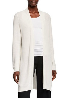 Eileen Fisher Lyocell Open-Front Cardigan