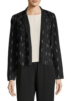 Eileen Fisher Mandarin Shirt Jacket