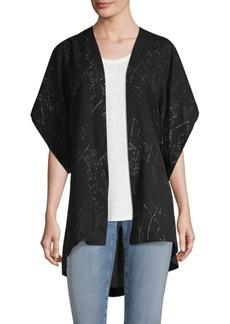 Eileen Fisher Marrakech Printed Kimono Jacket