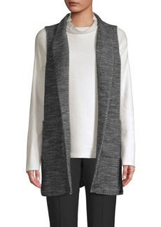 Eileen Fisher Mélange Long Vest