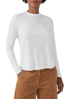 Eileen Fisher Mockneck Long-Sleeve Top