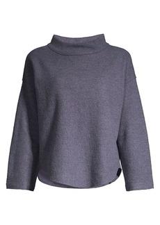Eileen Fisher Mockneck Wool Top