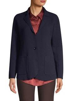Eileen Fisher Notch Collar Cardigan