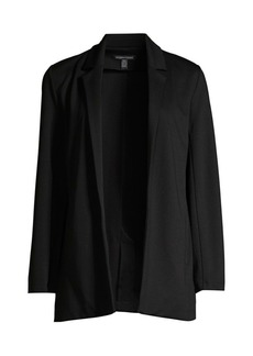 Eileen Fisher Notch Collar Jersey Knit Jacket