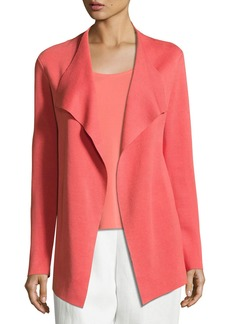 Eileen Fisher Open Interlock Cascade Jacket  Flora