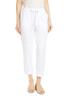 Eileen Fisher Organic Cotton Ankle Pants
