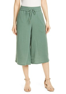 Eileen Fisher Organic Cotton Culottes (Petite)