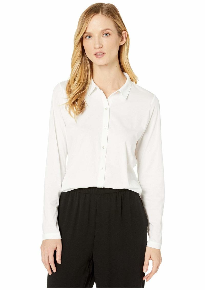 Organic Cotton Easy Jersey Classic Collar Shirt