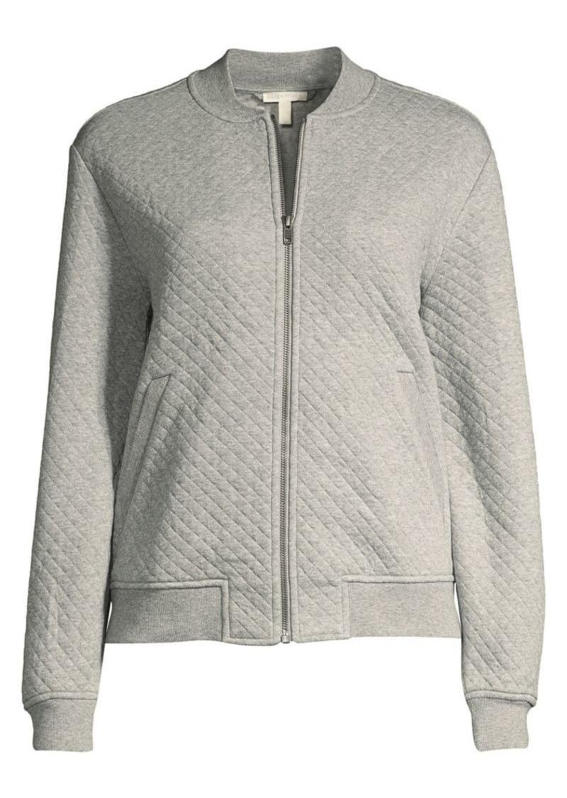 Eileen Fisher Organic Cotton Flight Jacket