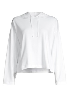 Eileen Fisher Organic Cotton Hooded Top