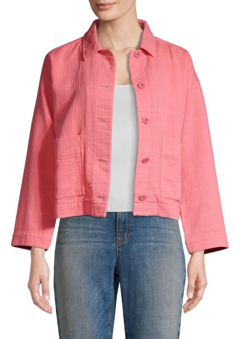 Eileen Fisher Organic Cotton Jacket