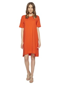 Eileen Fisher Organic Cotton Jersey A-line Dress