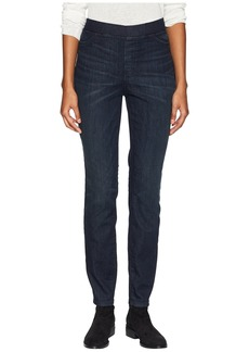 Eileen Fisher Organic Cotton Soft Stretch Denim Jeggings in Utility Blue
