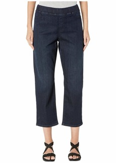 Eileen Fisher Organic Cotton Soft Stretch Denim Slim Jeans in Utility Blue