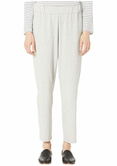 Eileen Fisher Organic Cotton Speckle Knit Tapered Ankle Pants