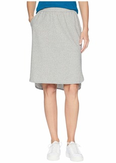 Eileen Fisher Organic Cotton Speckled Knit Simple Skirt